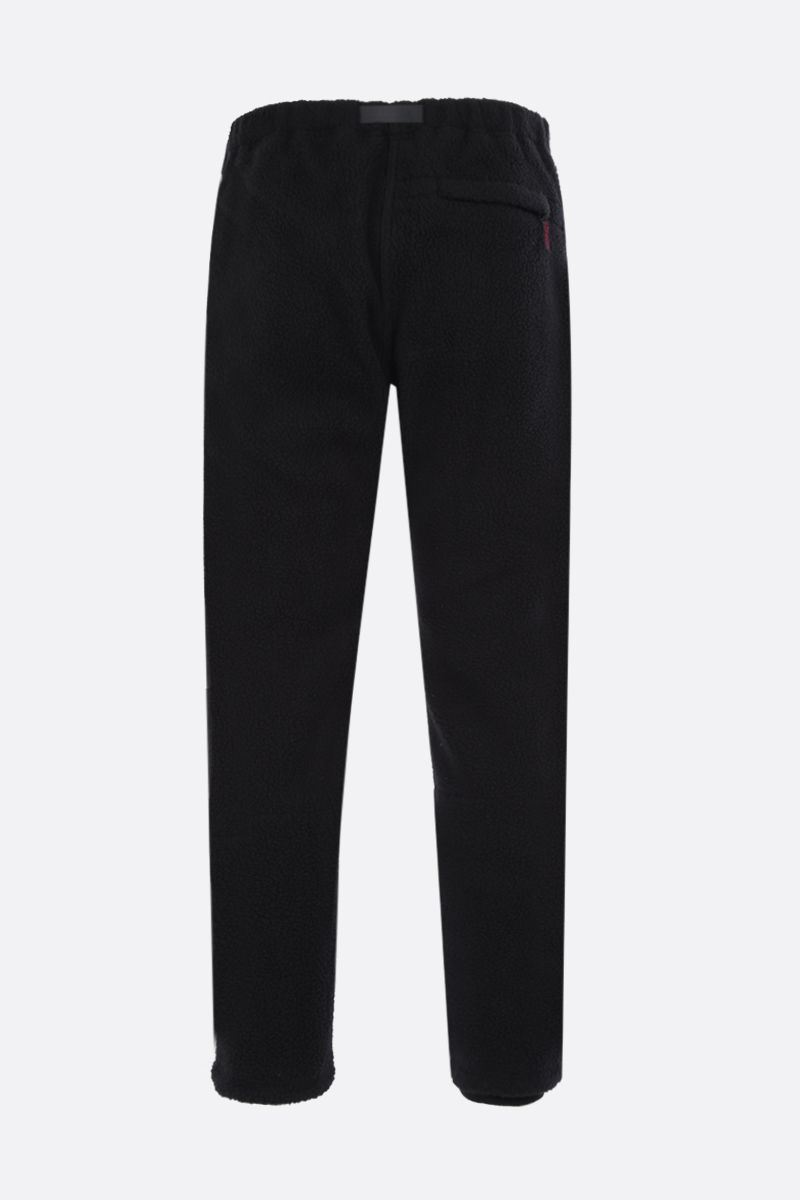GRAMICCI: slim-fit fleece pants Color Black_2
