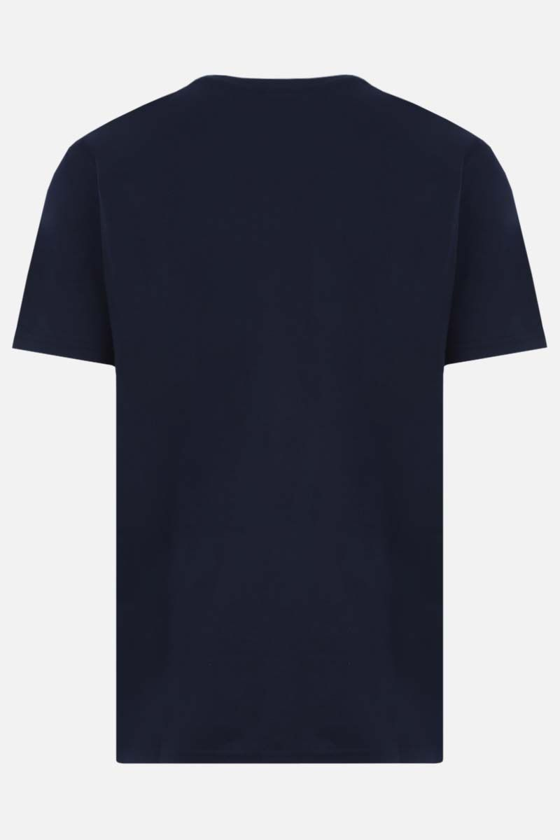 GRAMICCI: logo print cotton t-shirt Color Blue_2
