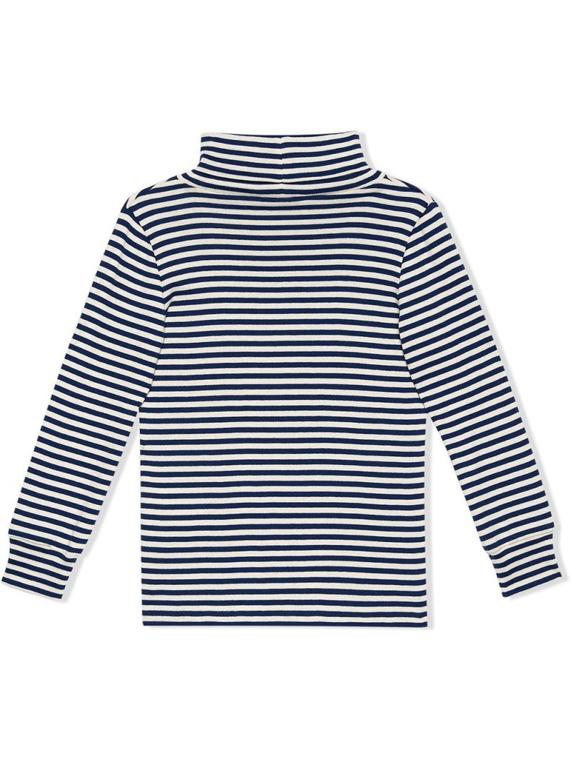 GUCCI CHILDREN: striped stretch cotton long-sleeved t-shirt Color Multicolor_2