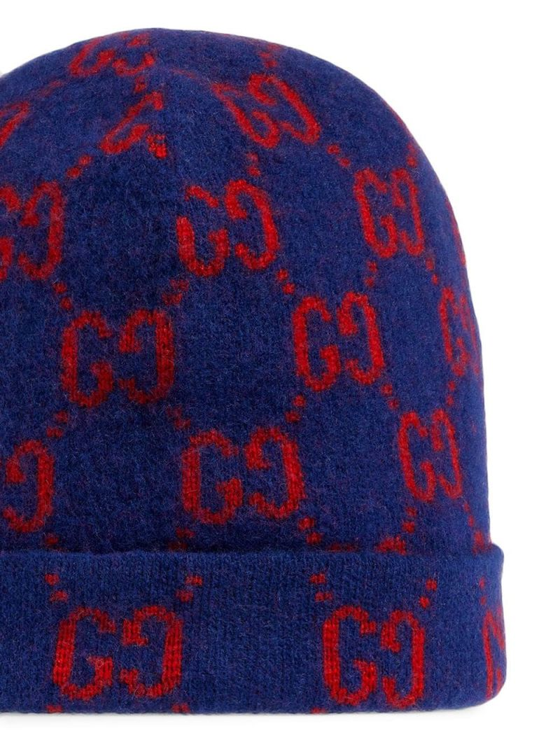 GUCCI CHILDREN: GG wool beanie Color Multicolor_2