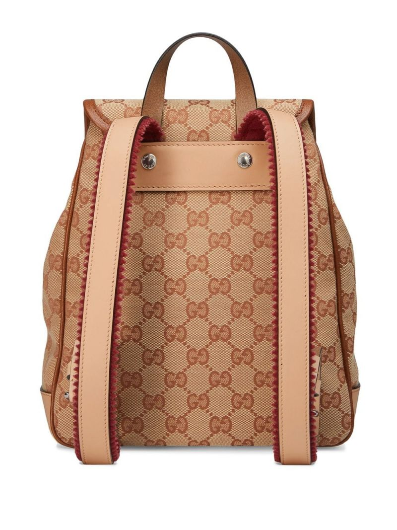 GUCCI CHILDREN: original GG canvas backpack Color Multicolor_2