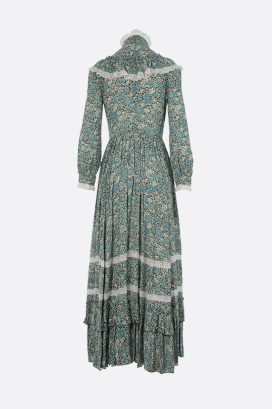 GUCCI: Gucci Liberty floral crepe maxi dress_2