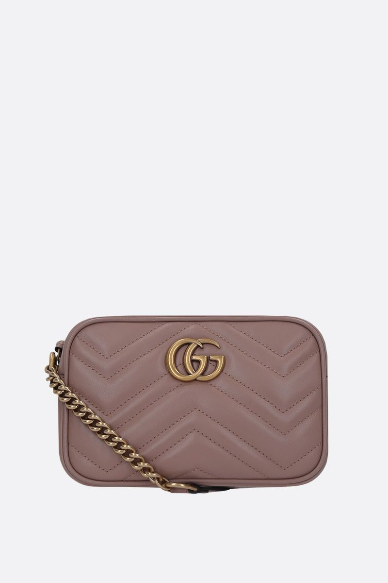 GUCCI: GG Marmont mini quilted leather shoulder bag_1