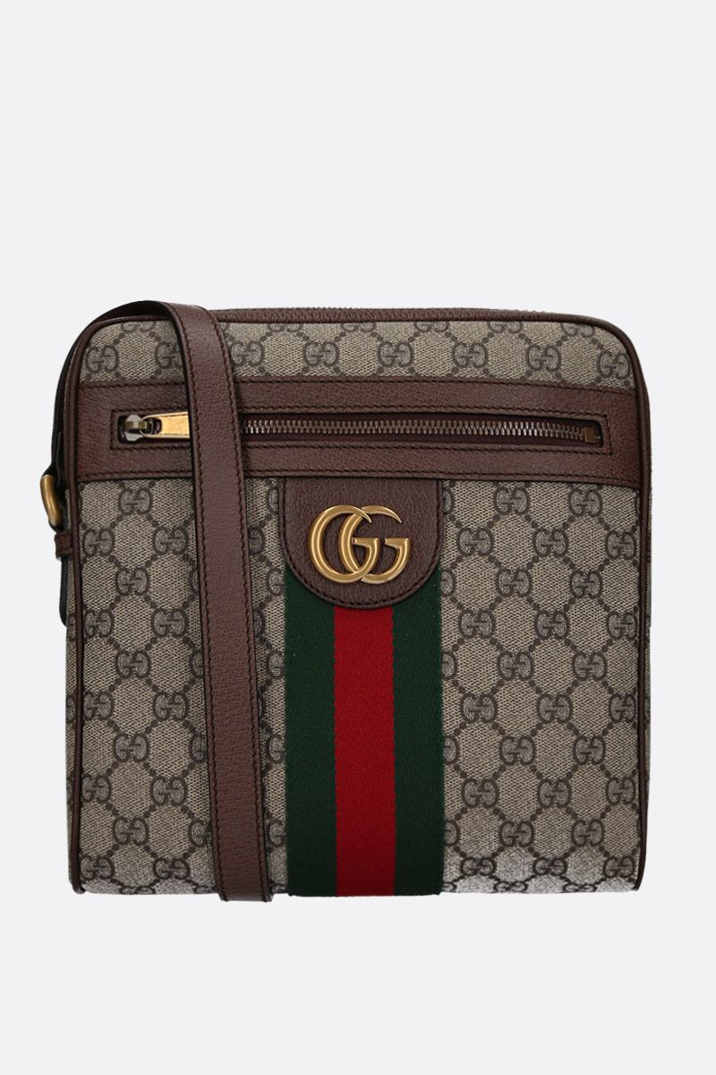 GUCCI: small GG Ophidia GG Supreme canvas crossbody bag Color Multicolor_1