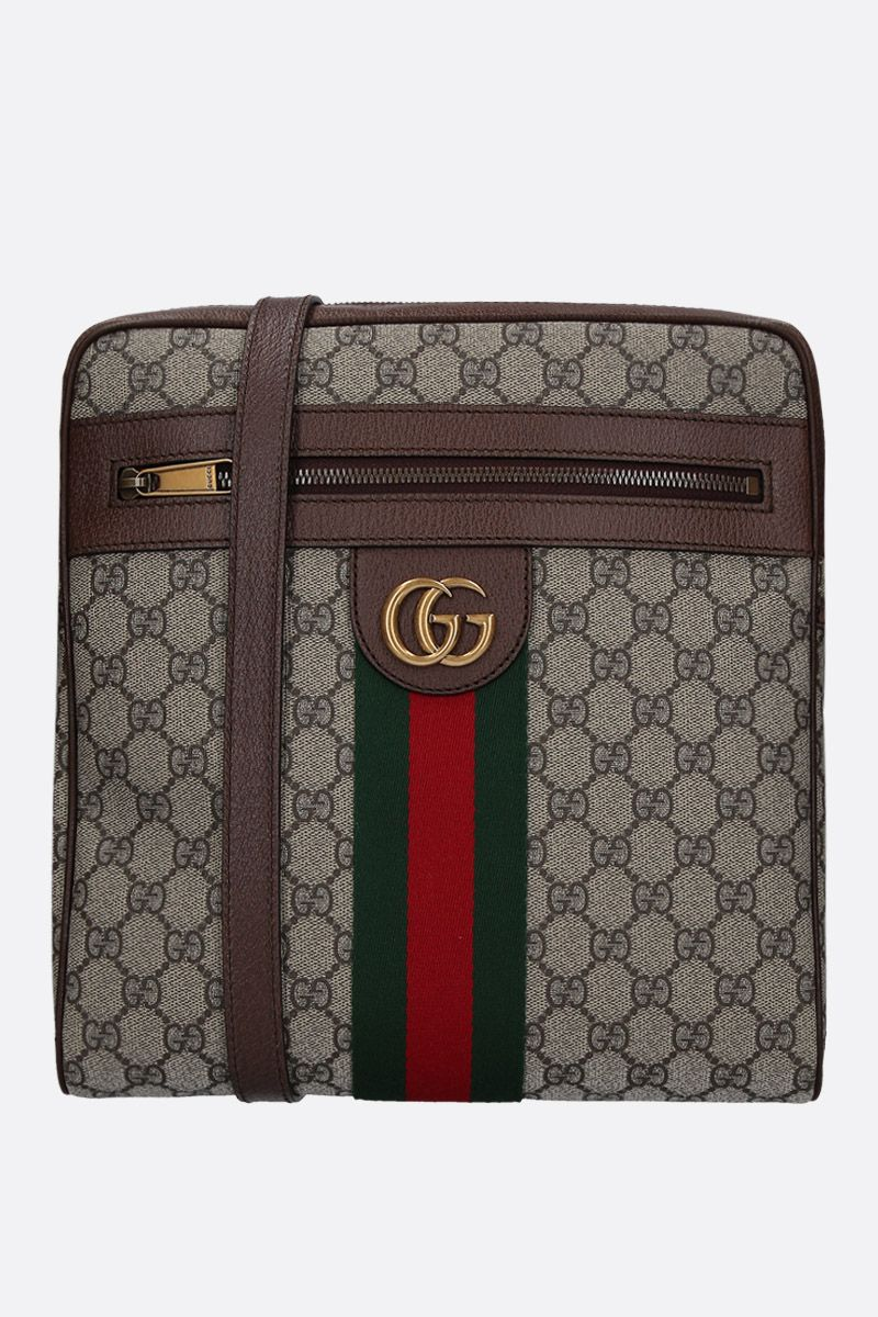 GUCCI: medium Ophidia crossbody bag in GG Supreme canvas Color Multicolor_1