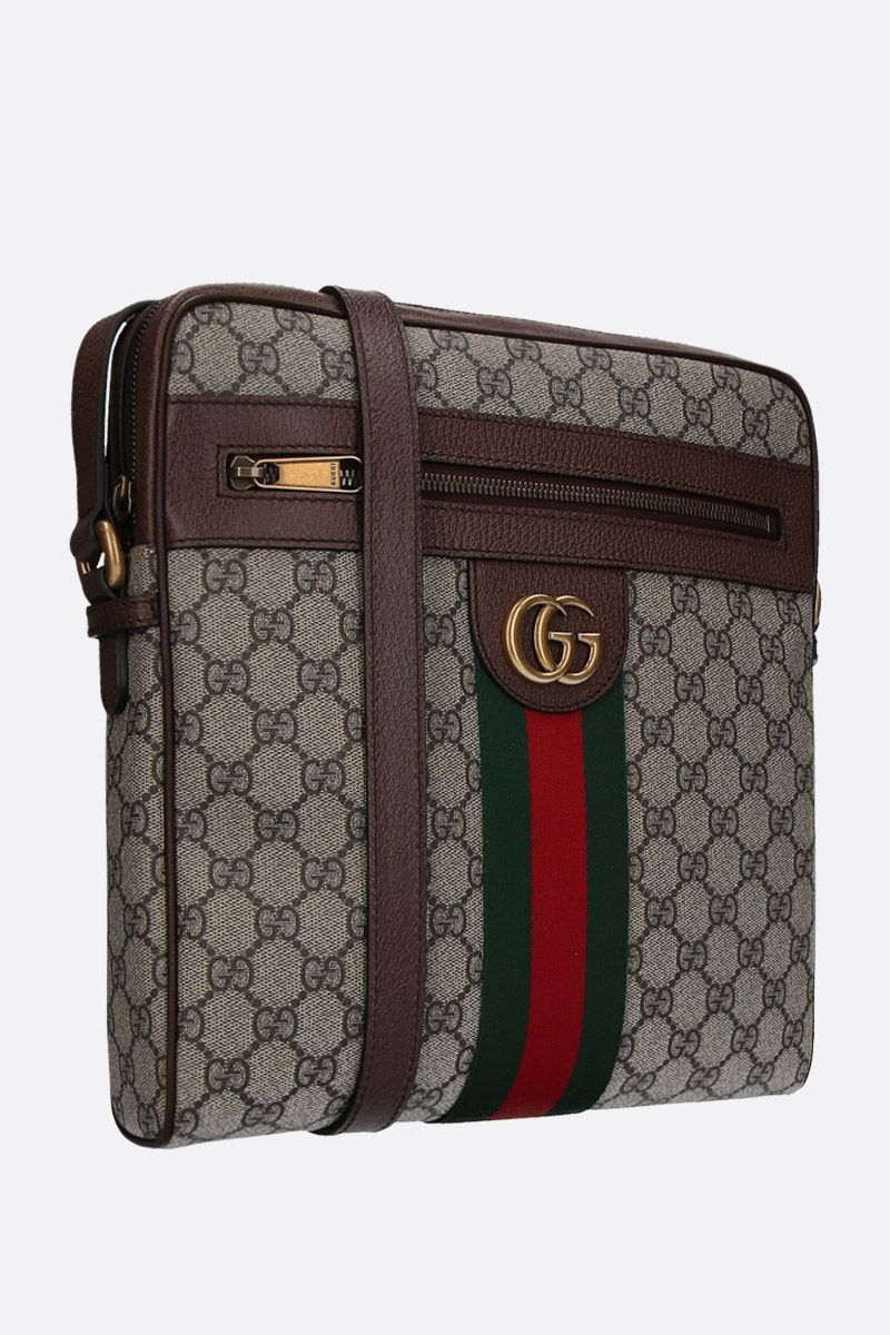 GUCCI: medium Ophidia crossbody bag in GG Supreme canvas Color Multicolor_2