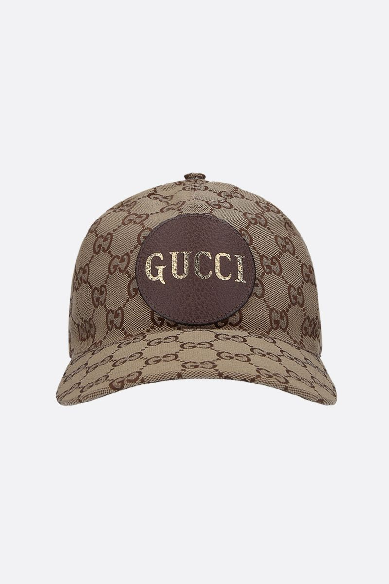 GUCCI: GG canvas baseball cap Color White_1