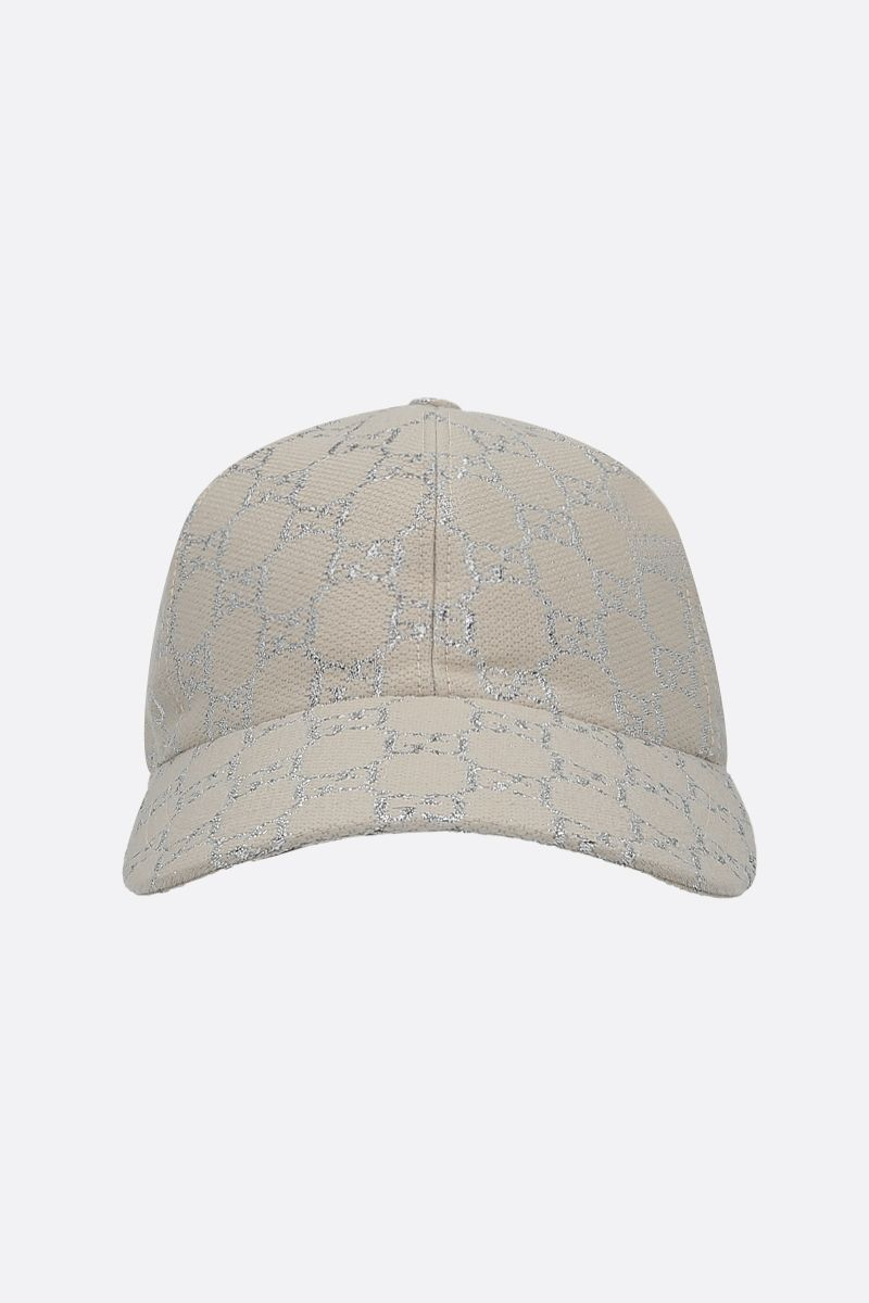 GUCCI: GG lamè baseball cap Color Multicolor_1