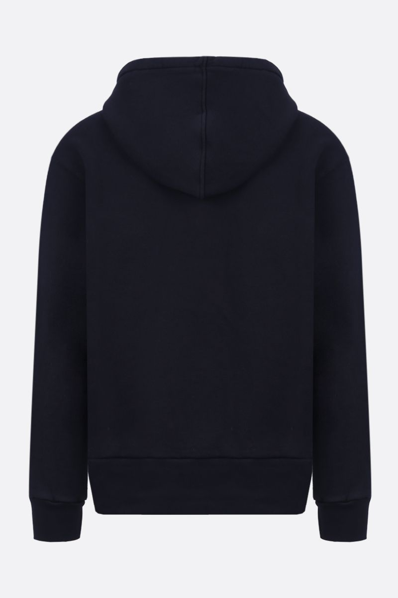 GUCCI: GG print oversized cotton hoodie Color Black_2