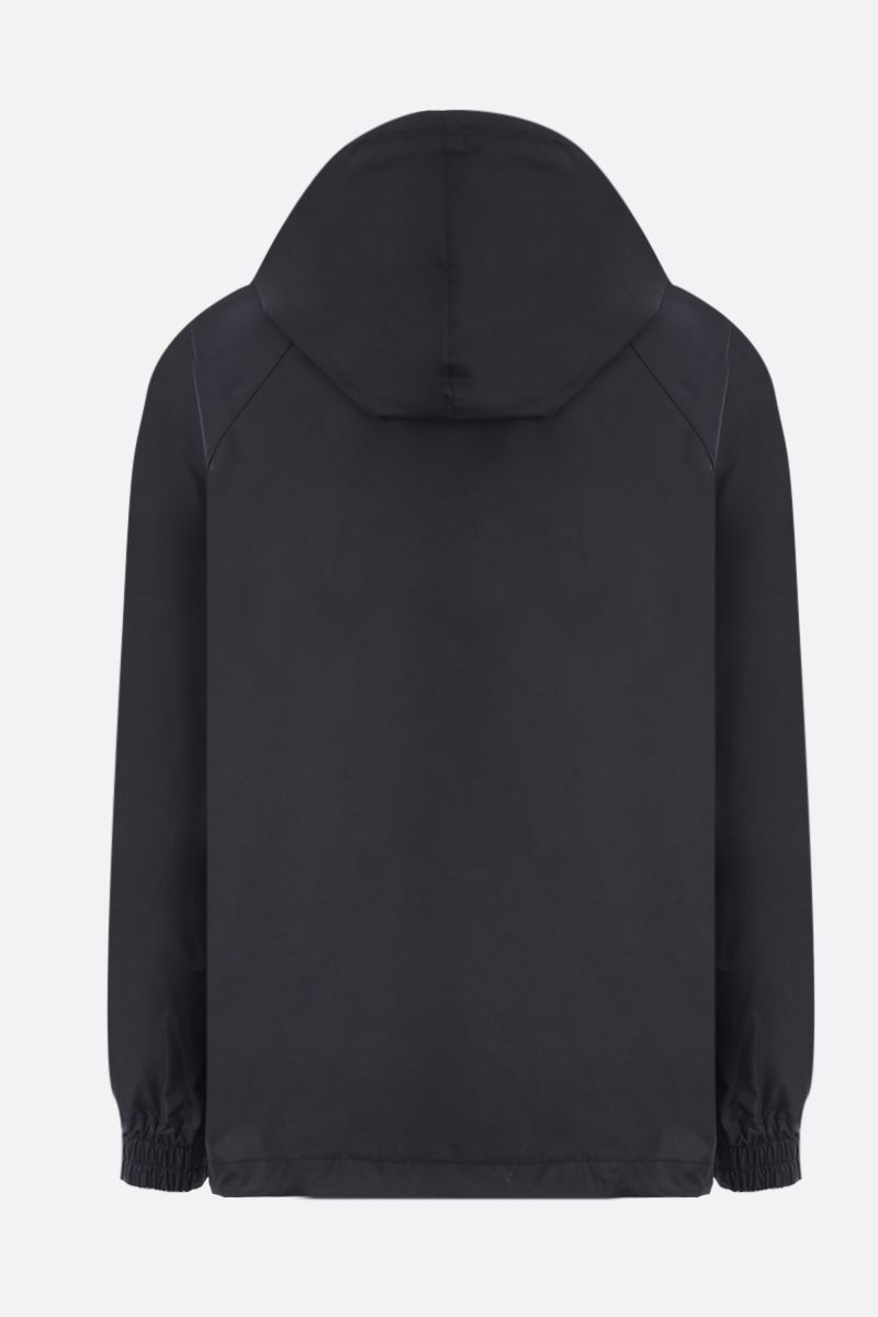 GUCCI: Web-detailed technical cotton anorak Color Black_2