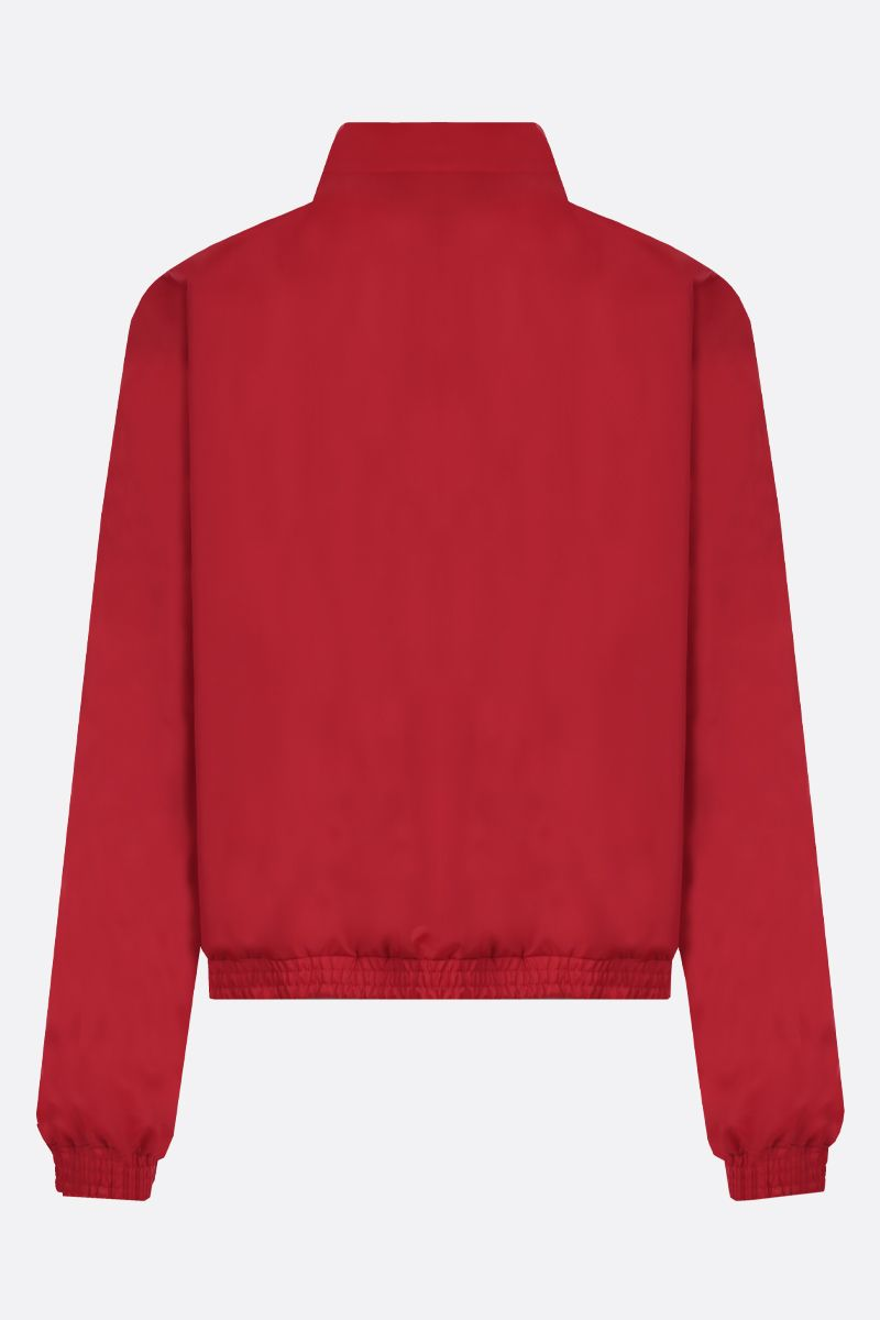 GUCCI: Gucci embroidered nylon full-zip jacket Color Red_2