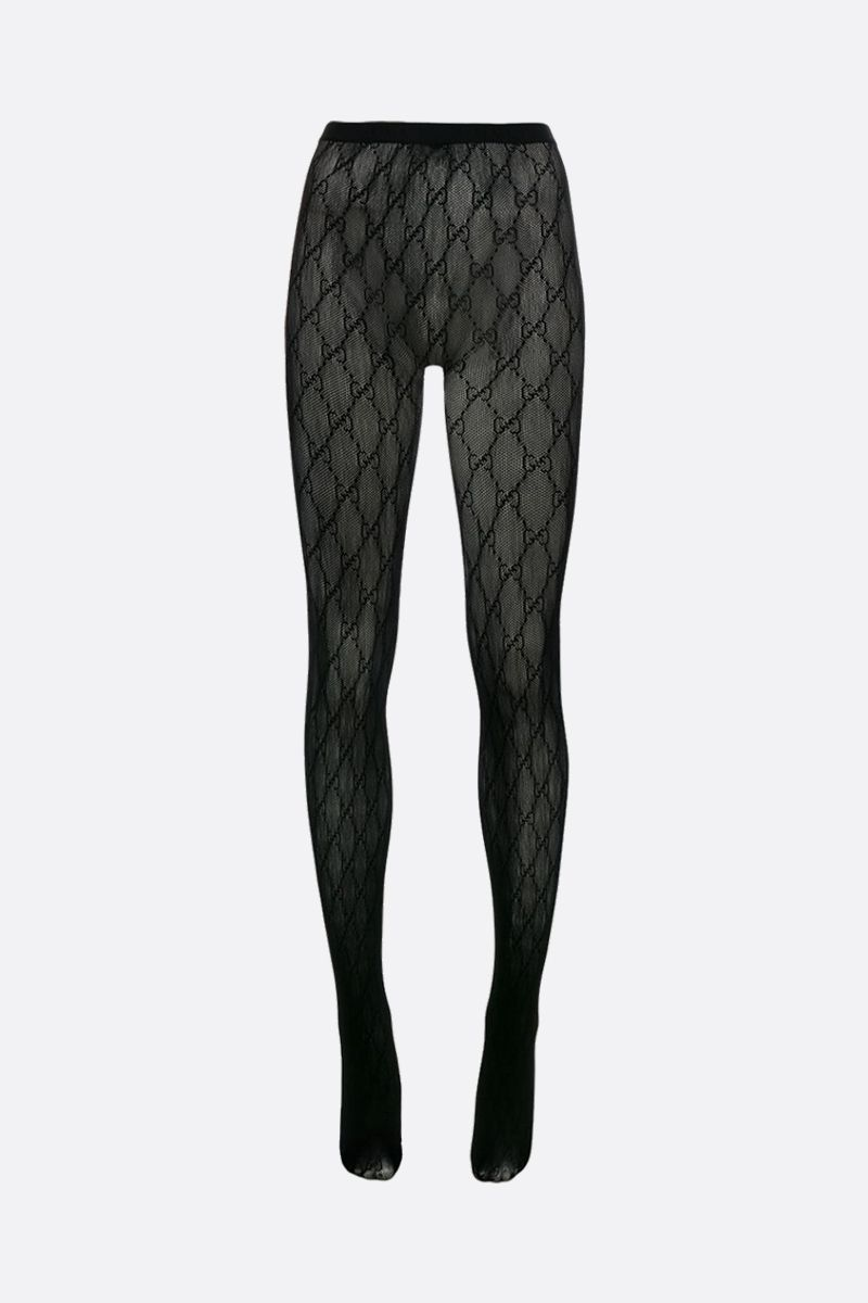 GUCCI: GG nylon tights Color Black_1