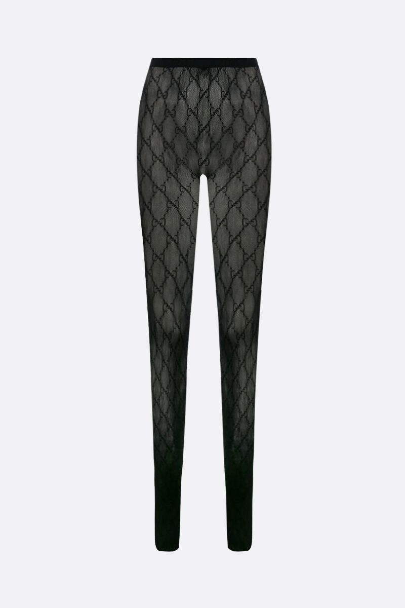 GUCCI: GG nylon tights Color Black_2