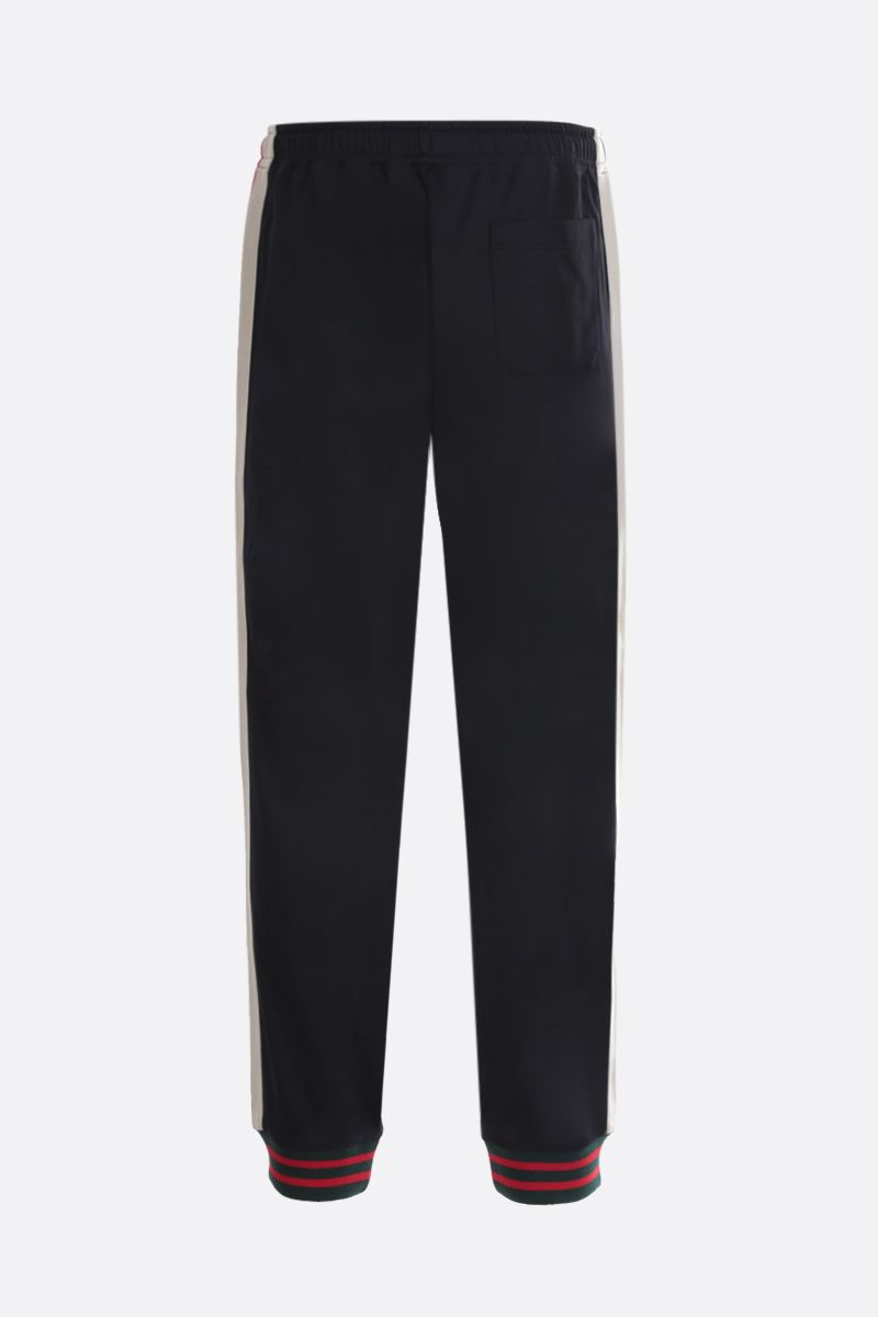 GUCCI: technical jersey joggers Color Black_2