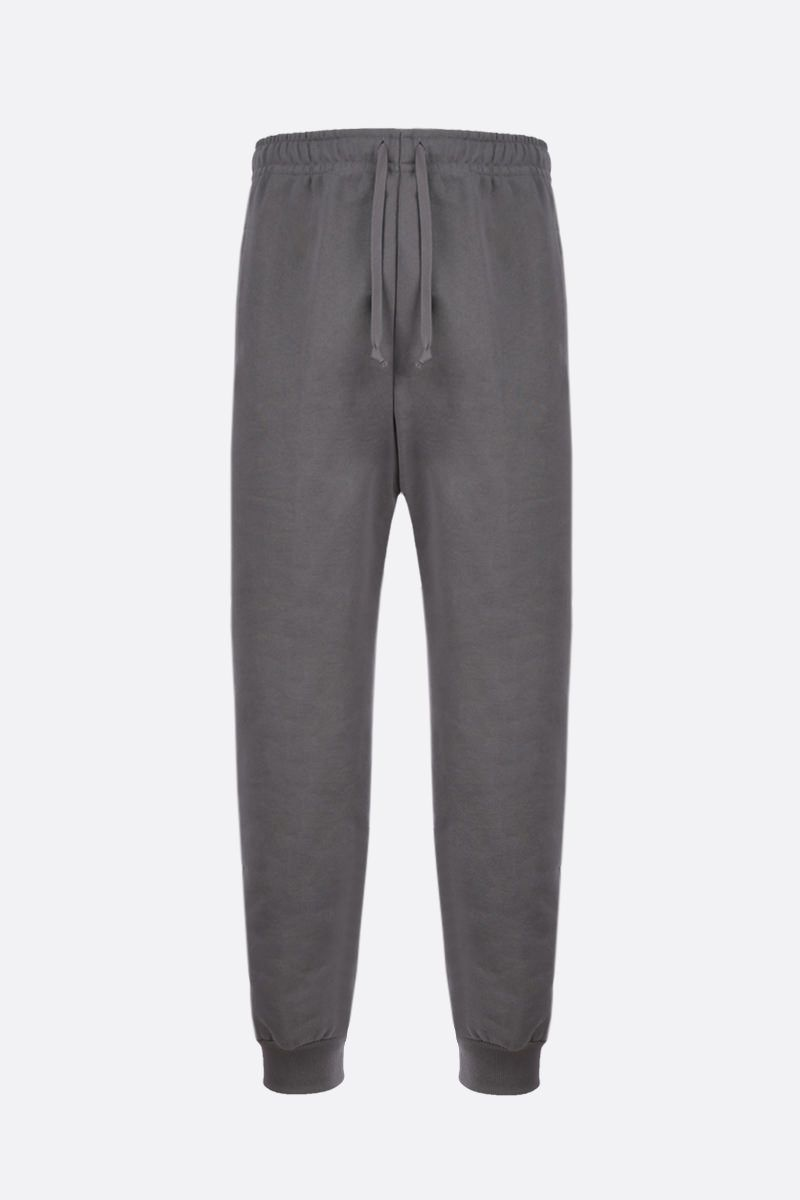 GUCCI: Interlocking G band-detailed cotton joggers Color Multicolor_1