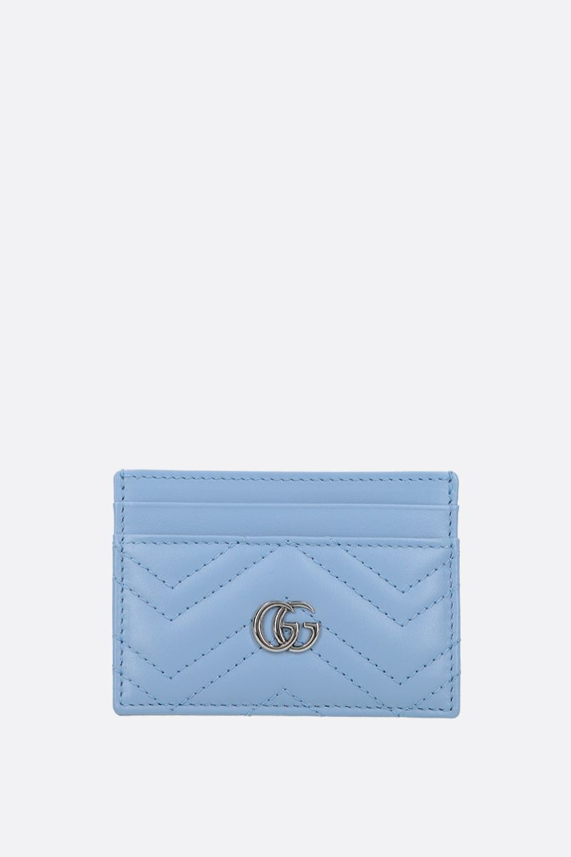 GUCCI: GG Marmont quilted leather card case_1