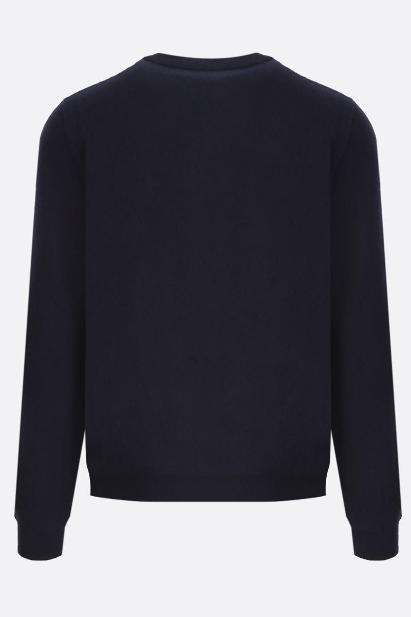 GUCCI: GG intarsia wool pullover Color Blue_2