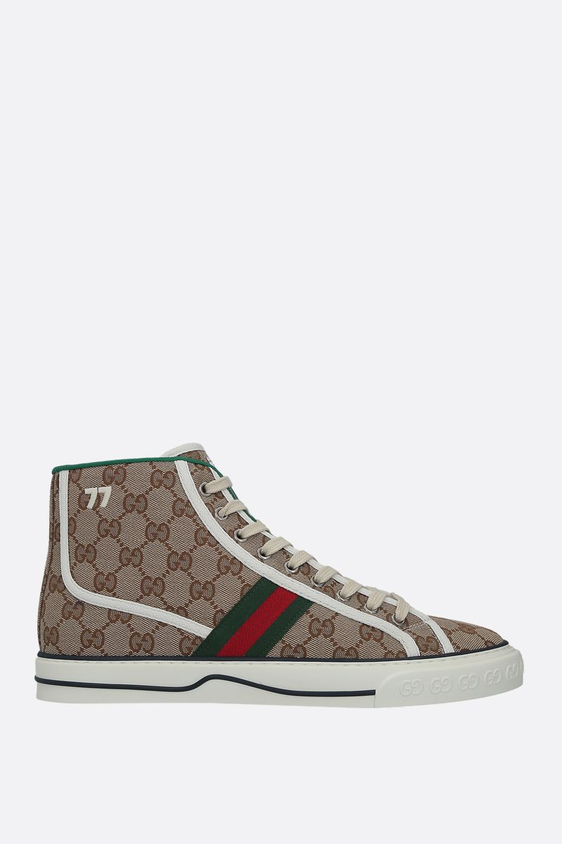 GUCCI: Gucci Tennis 1977 sneakers in Original GG canvas Color Multicolor_1