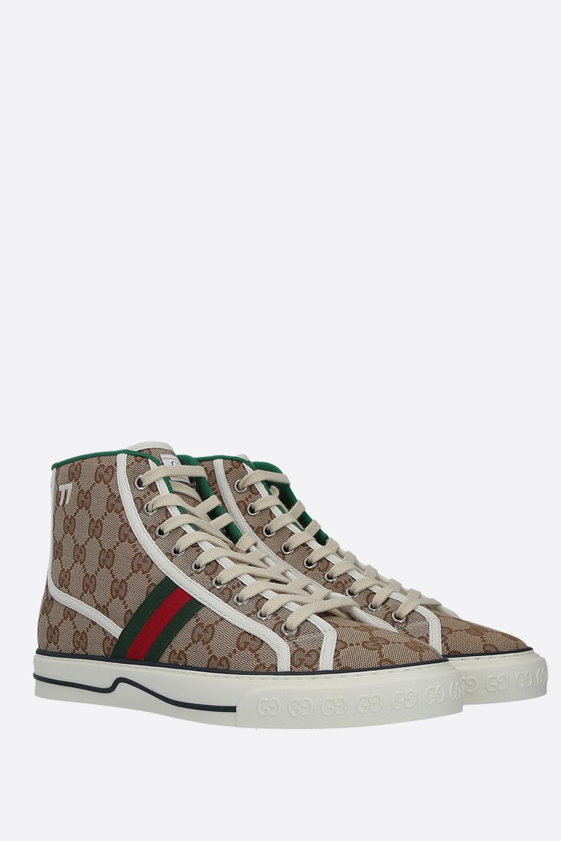 GUCCI: Gucci Tennis 1977 sneakers in Original GG canvas Color Multicolor_2