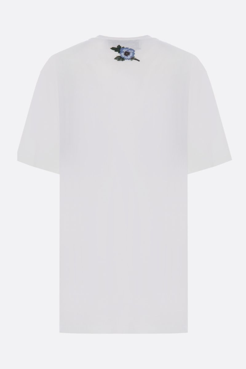 GUCCI: vintage Gucci print oversized jersey t-shirt Color Neutral_2