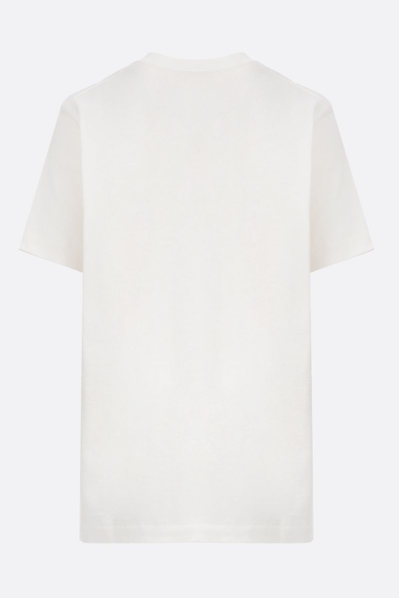 GUCCI: Gucci Beverly Hills cherry print cotton t-shirt Color White_2