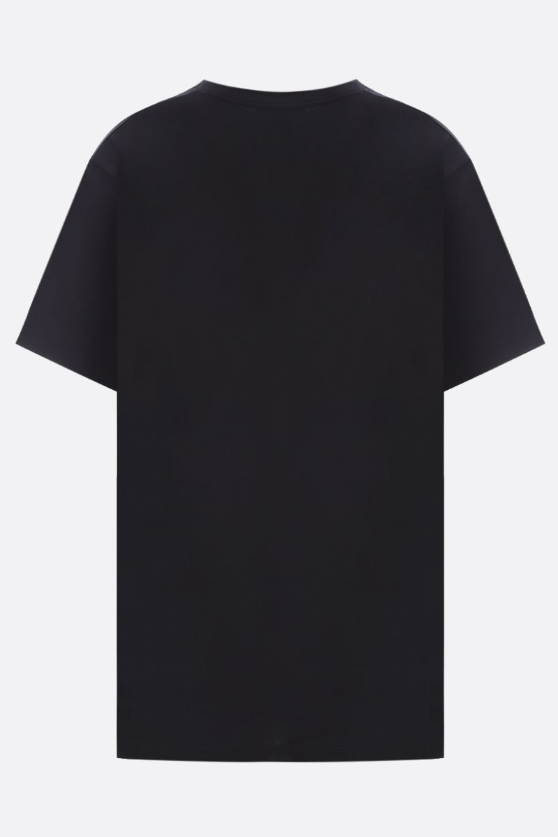GUCCI: Original Gucci print cotton oversize t-shirt Color Black_2