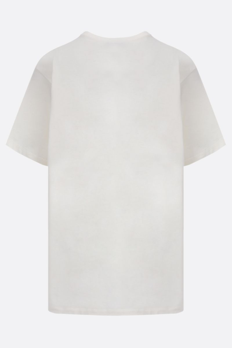 GUCCI: Original Gucci print cotton oversize t-shirt Color White_2
