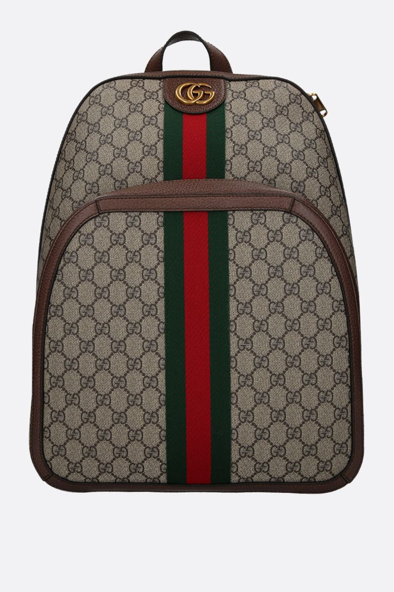 GUCCI: medium Ophidia GG Supreme canvas backpack Color Multicolor_1