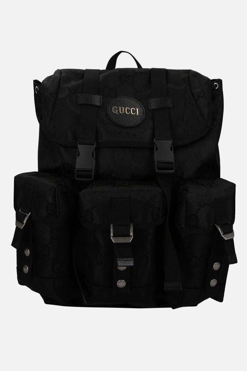 GUCCI: Gucci Off The Grid backpack in ECONYL® Color Black_1
