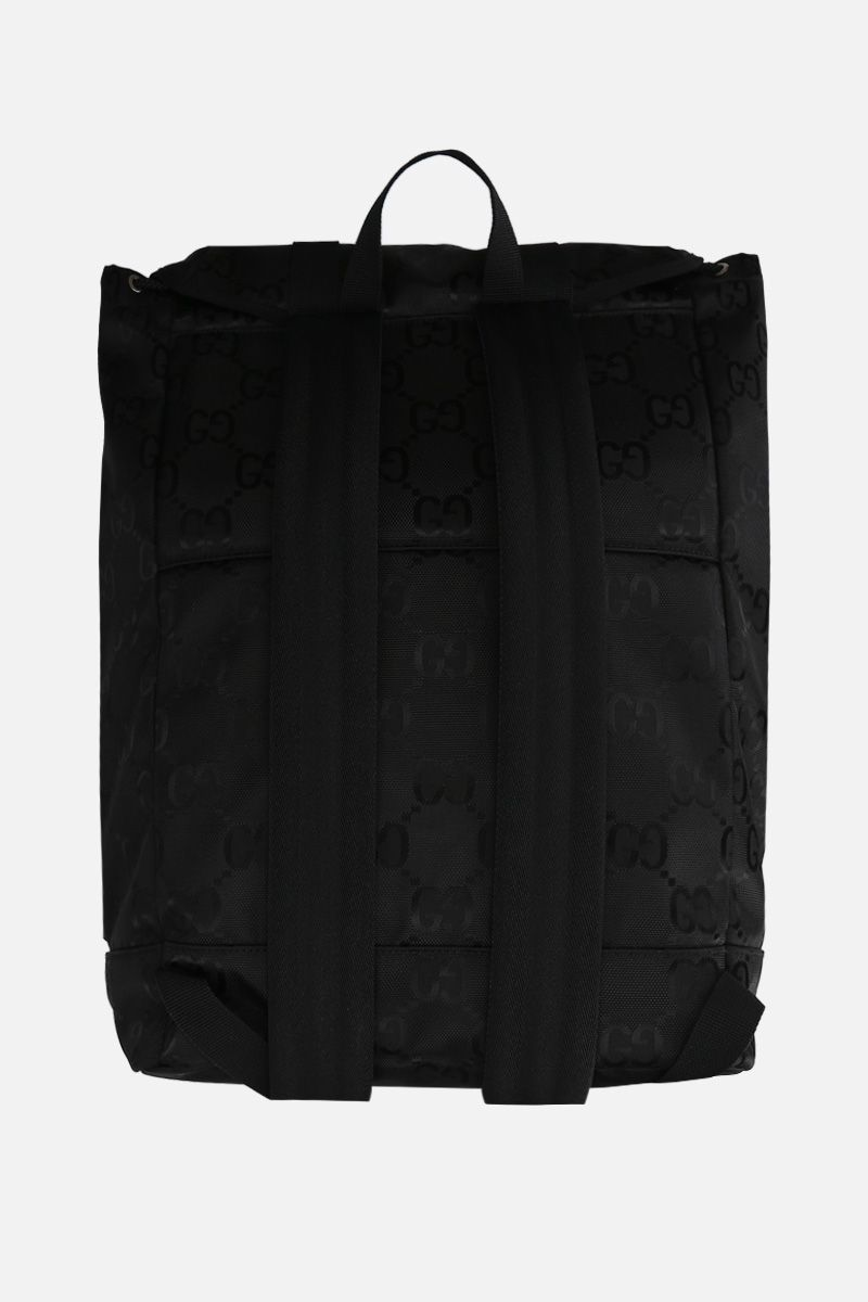 GUCCI: Gucci Off The Grid backpack in ECONYL® Color Black_3