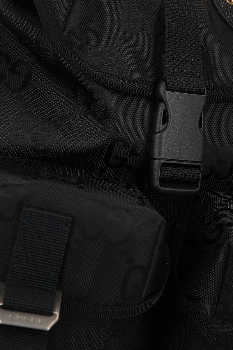 GUCCI: Gucci Off The Grid backpack in ECONYL® Color Black_4