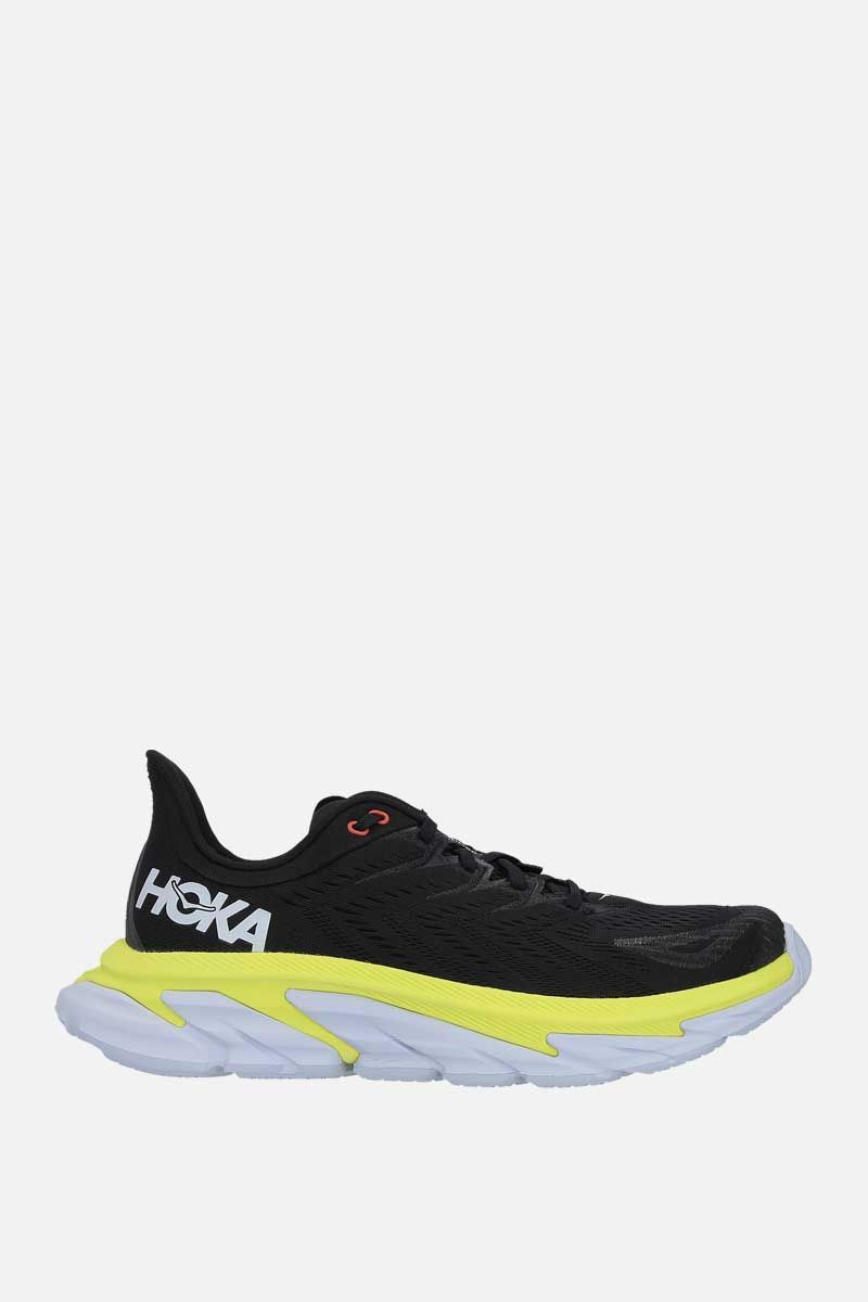 HOKA ONE ONE: Clifton Edge tech knit sneakers Color Grey_1