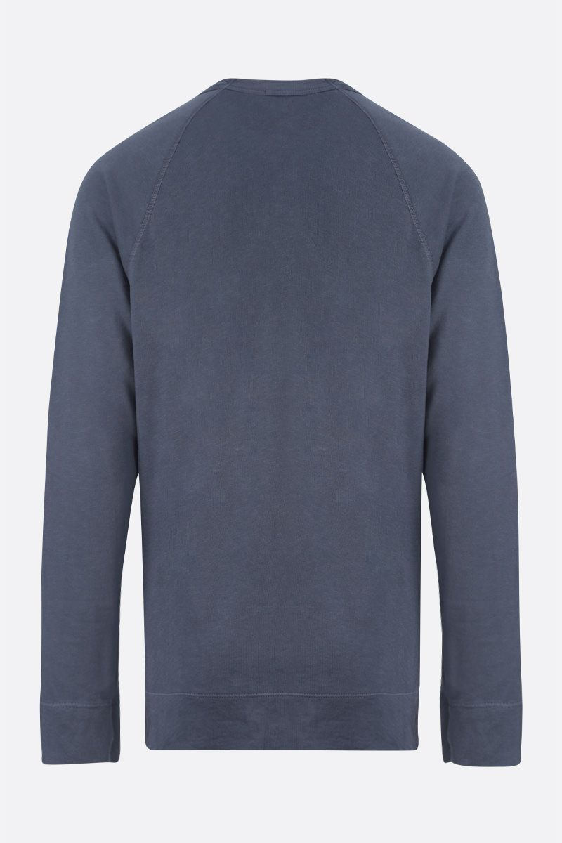 JAMES PERSE: basic cotton sweatshirt Color Blue_2