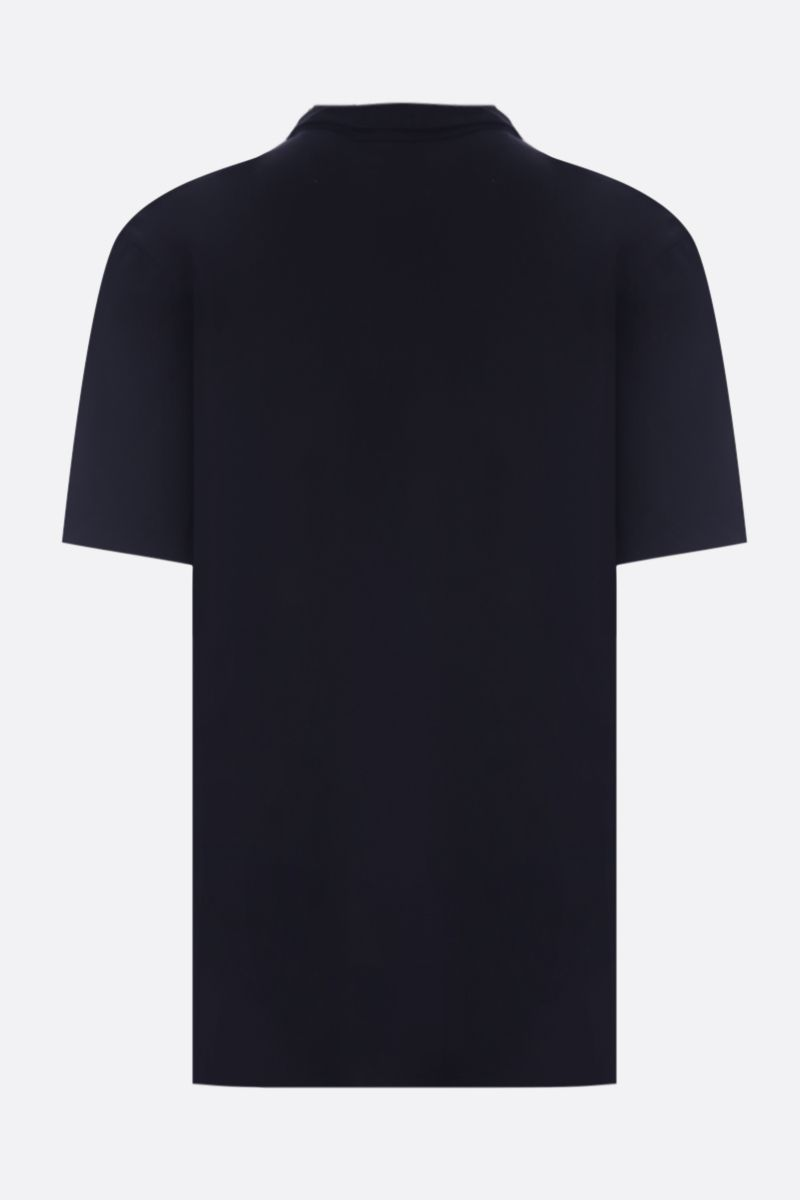 JAMES PERSE: regular-fit cotton jersey polo shirt Color Black_2