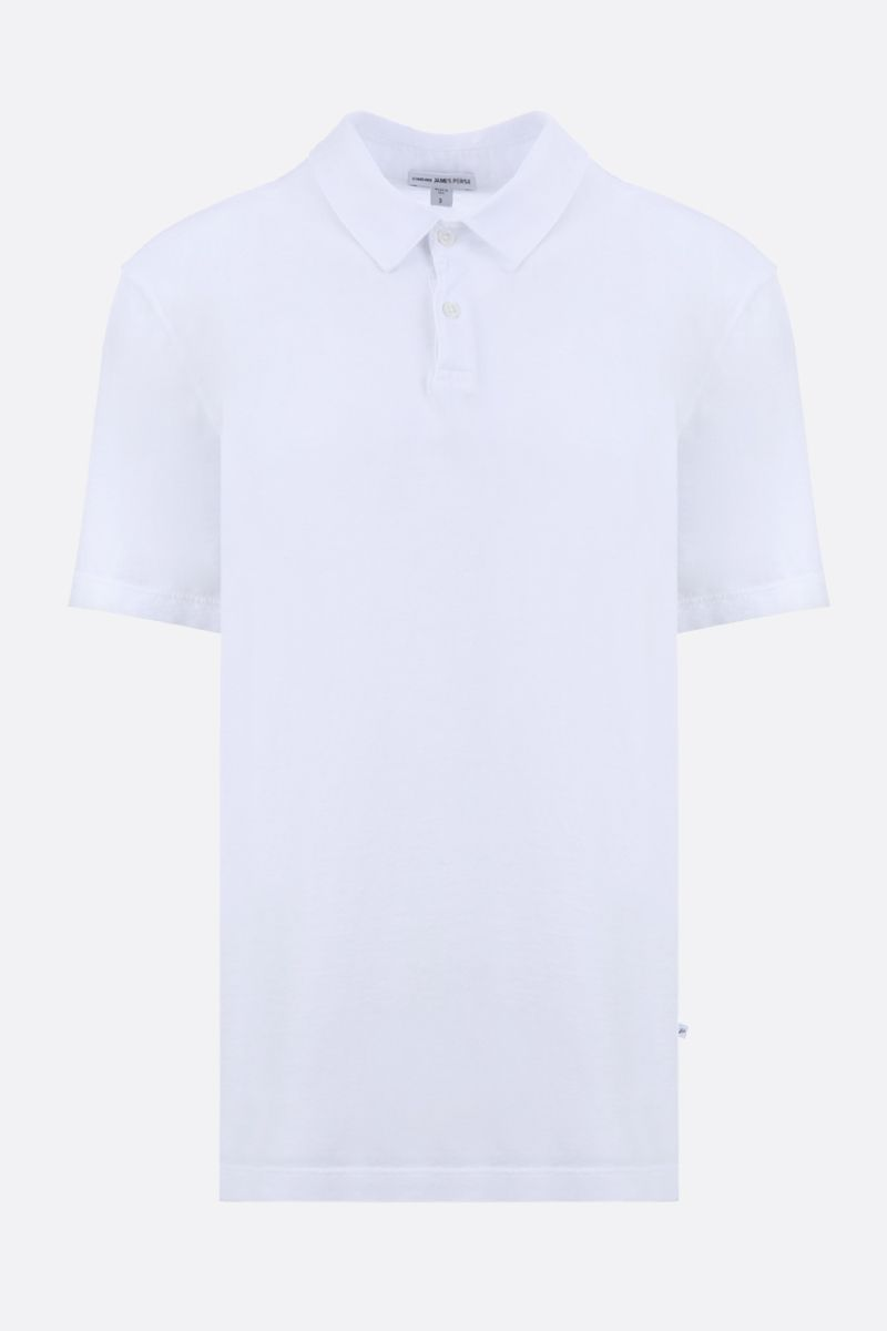 JAMES PERSE: polo regular-fit in jersey di cotone Colore Bianco_1