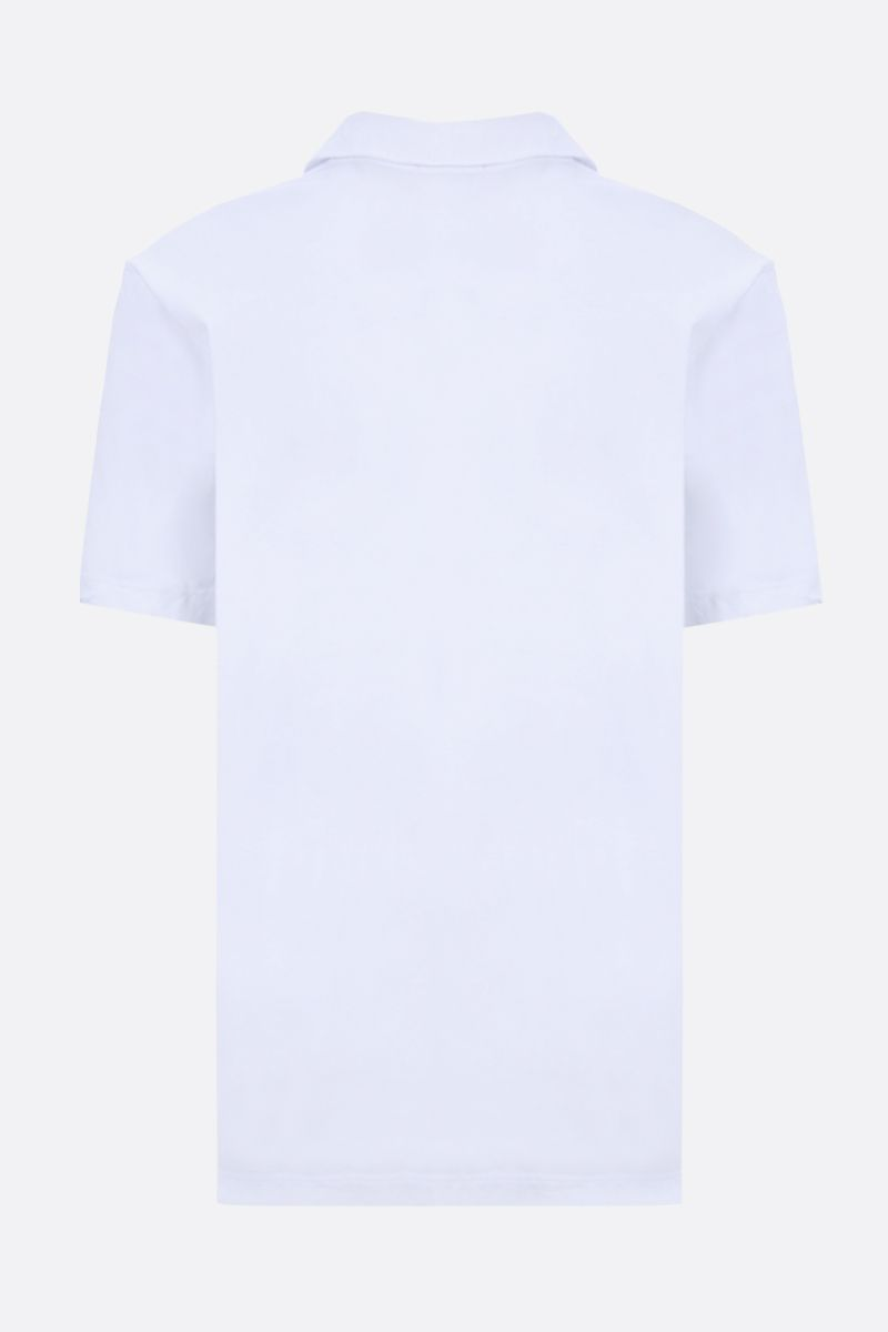 JAMES PERSE: regular-fit cotton jersey polo shirt Color White_2
