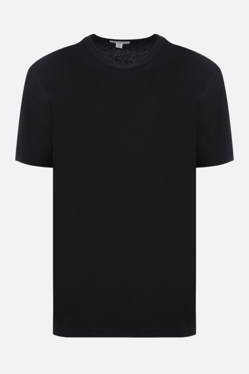 JAMES PERSE: t-shirt regular-fit in cotone Colore Nero_1