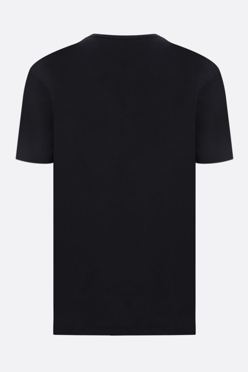 JAMES PERSE: t-shirt regular-fit in cotone Colore Nero_2