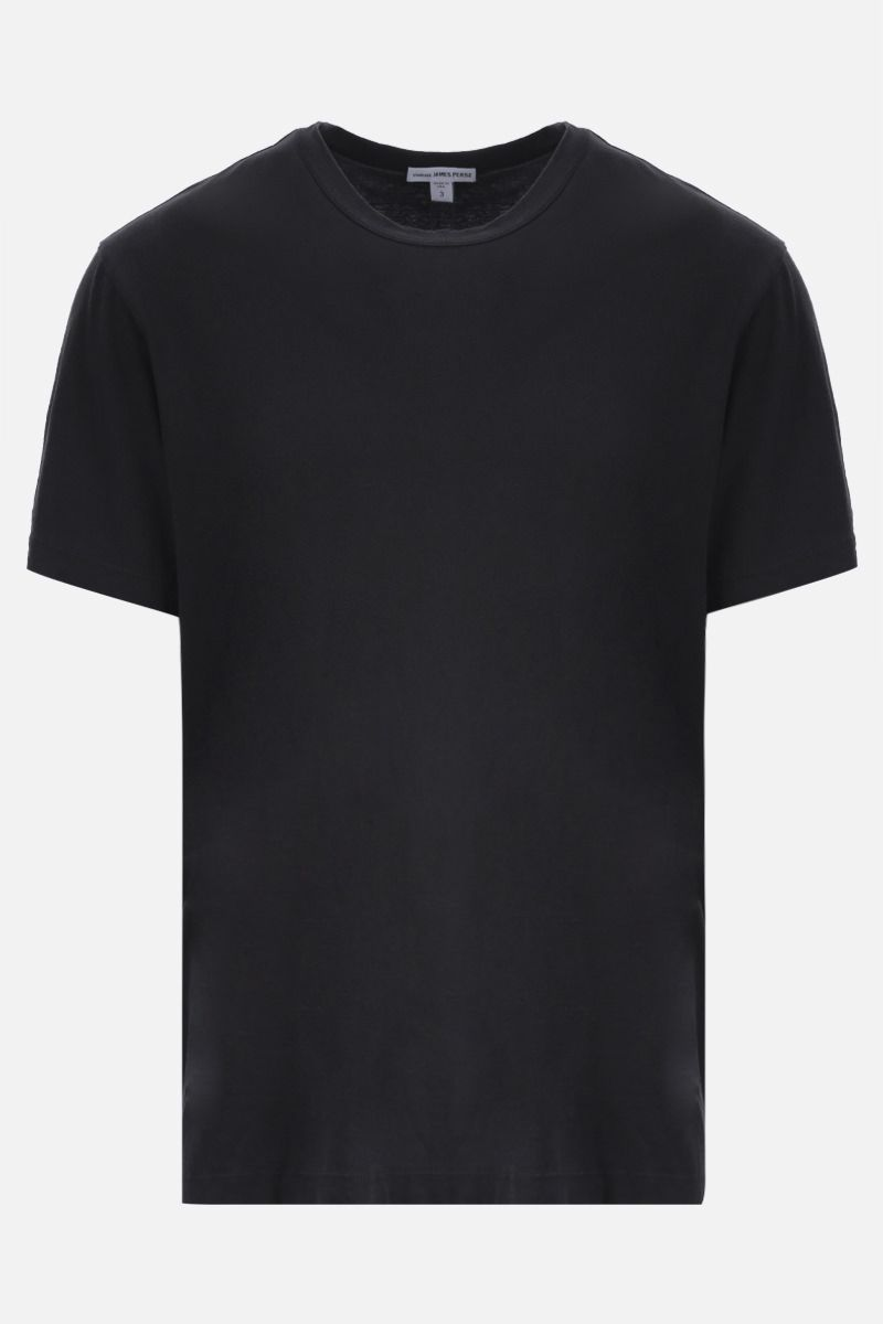 JAMES PERSE: t-shirt regular-fit in cotone Colore Grigio_1