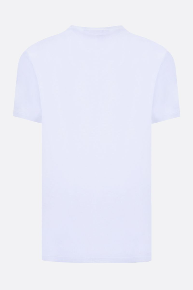 JAMES PERSE: t-shirt regular-fit in cotone Colore Bianco_2