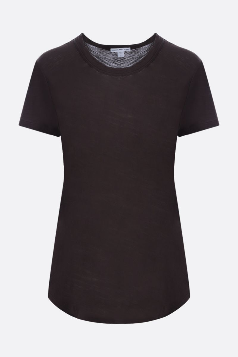 JAMES PERSE: slim-fit cotton jersey t-shirt Color Brown_1