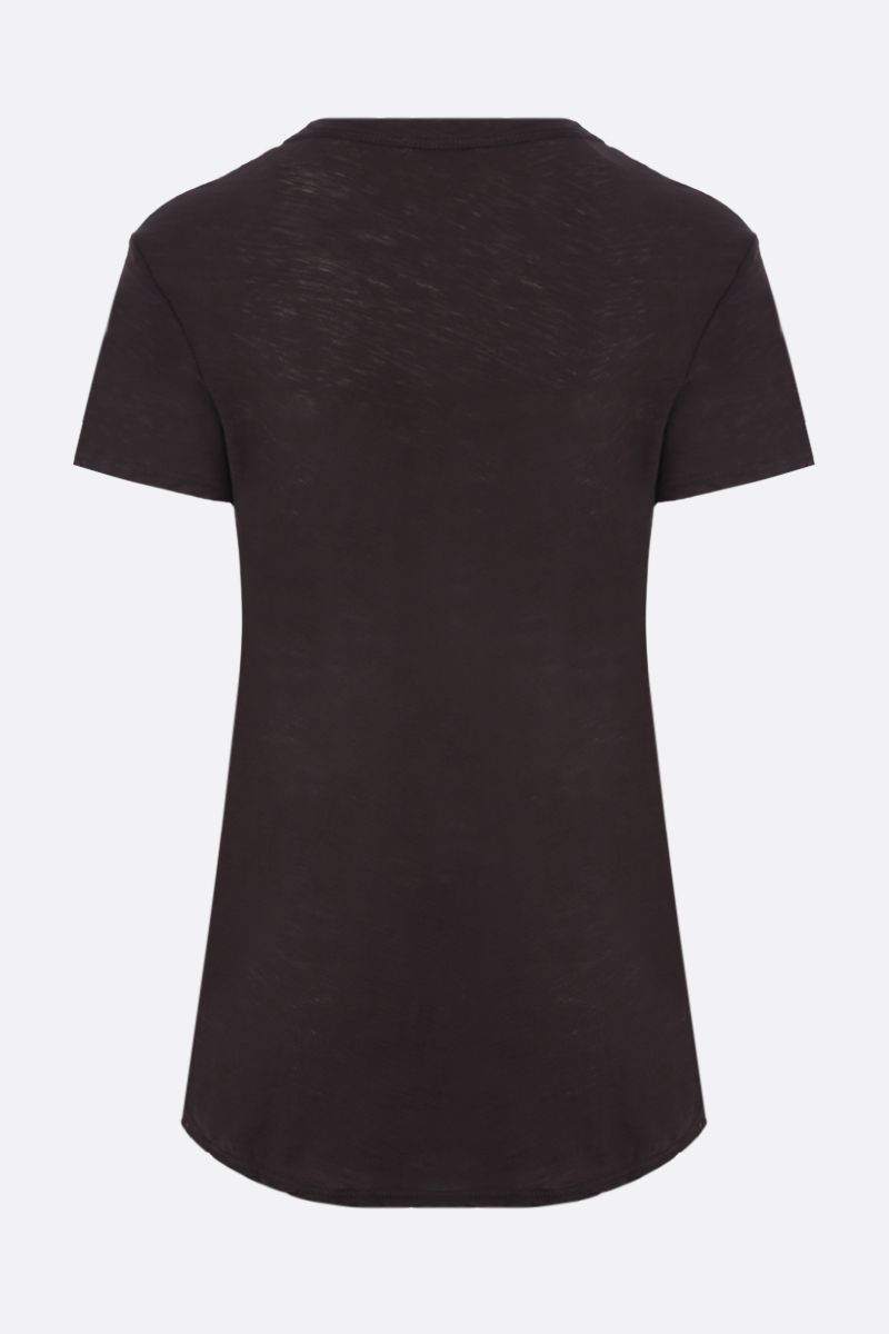 JAMES PERSE: slim-fit cotton jersey t-shirt Color Brown_2