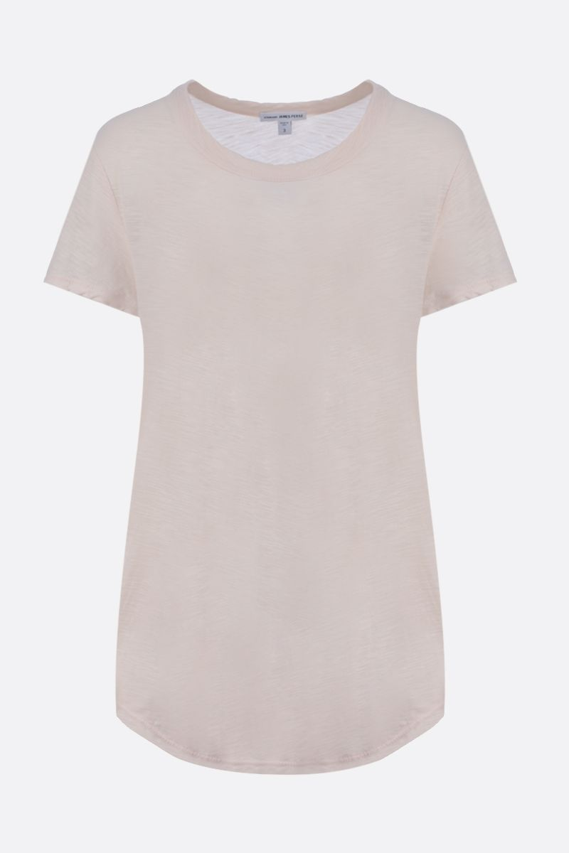 JAMES PERSE: slim-fit cotton jersey t-shirt Color Pink_1