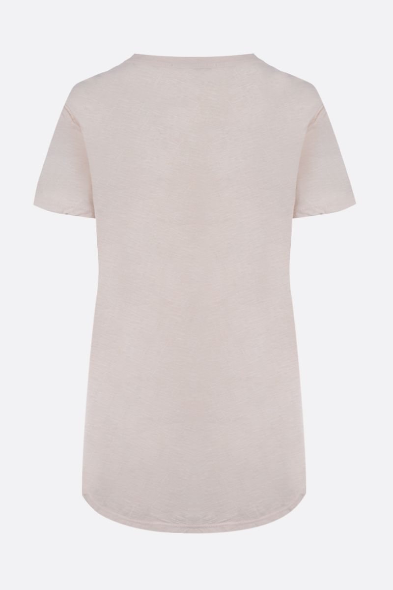 JAMES PERSE: slim-fit cotton jersey t-shirt Color Pink_2