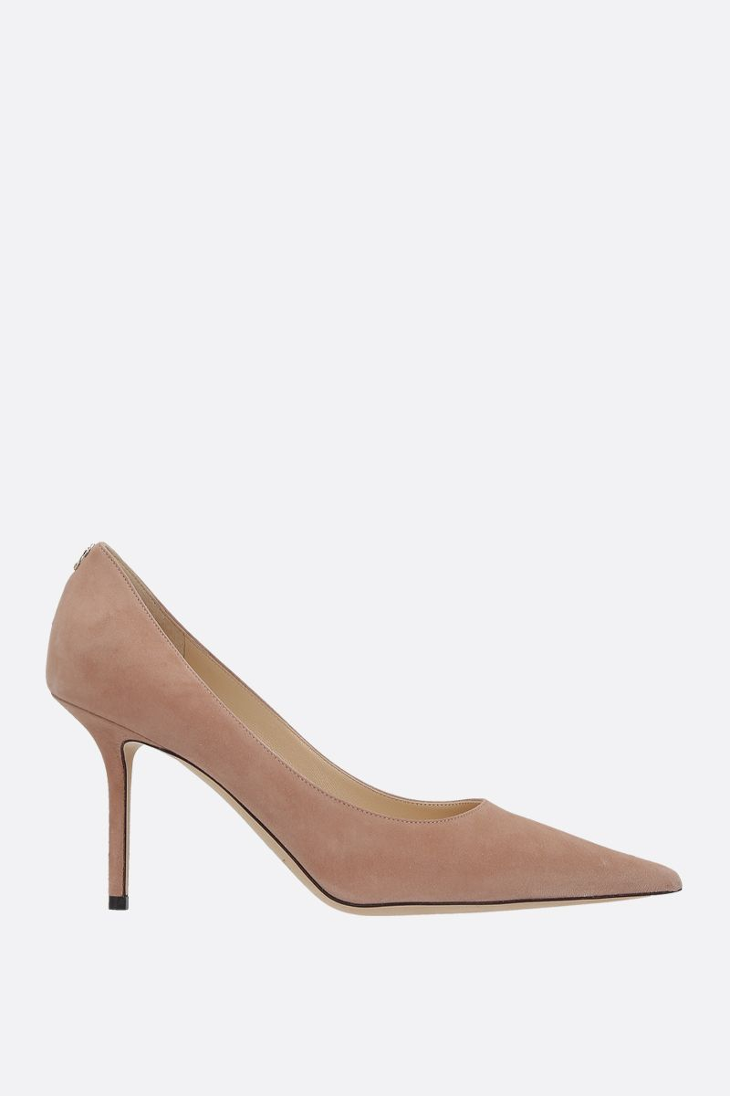 JIMMY CHOO: Love suede pumps Color Pink_1