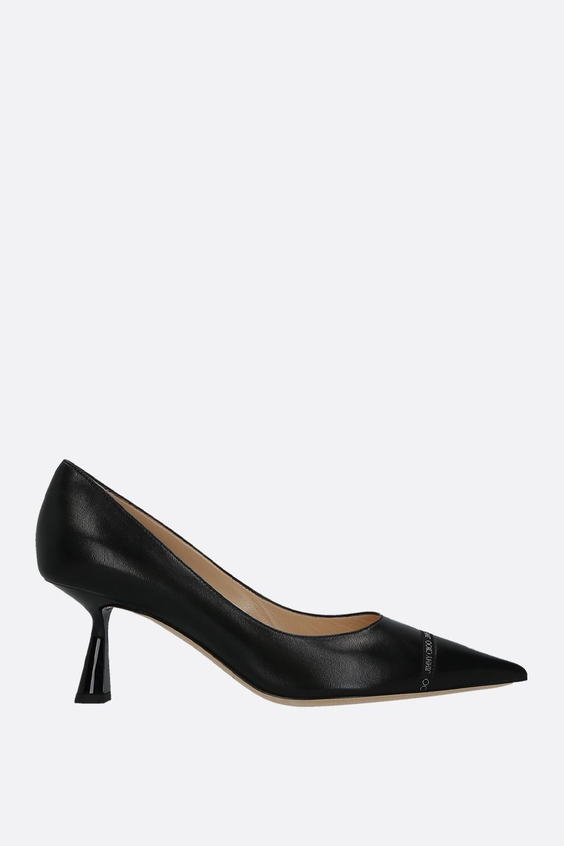 JIMMY CHOO: Renè soft nappa pumps Color Black_1