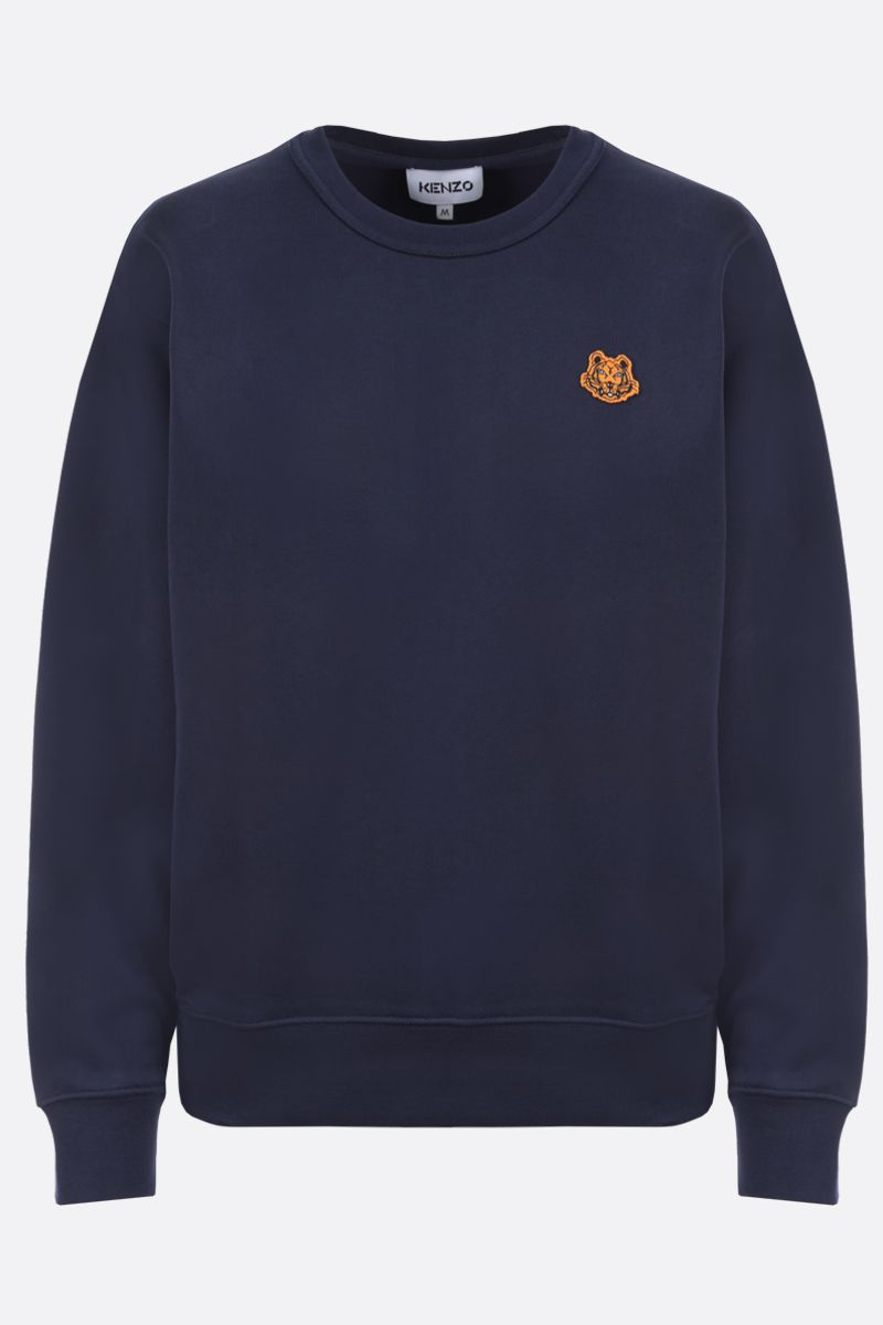 KENZO: Tiger Crest cotton sweatshirt Color Blue_1