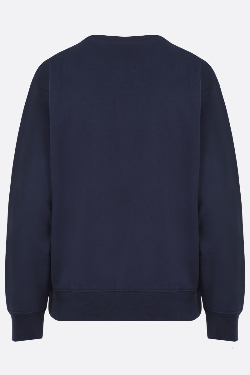 KENZO: Tiger Crest cotton sweatshirt Color Blue_2