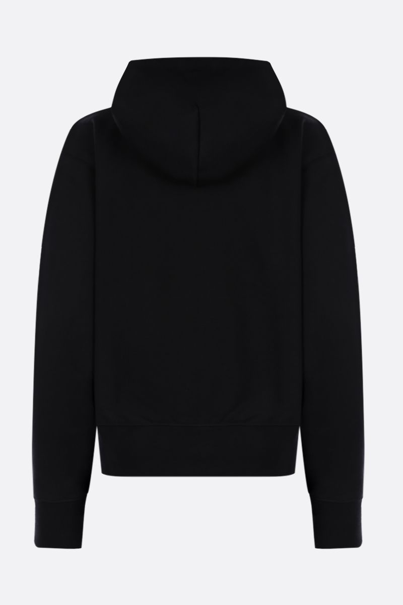 KENZO: Tiger cotton hoodie Color Black_2