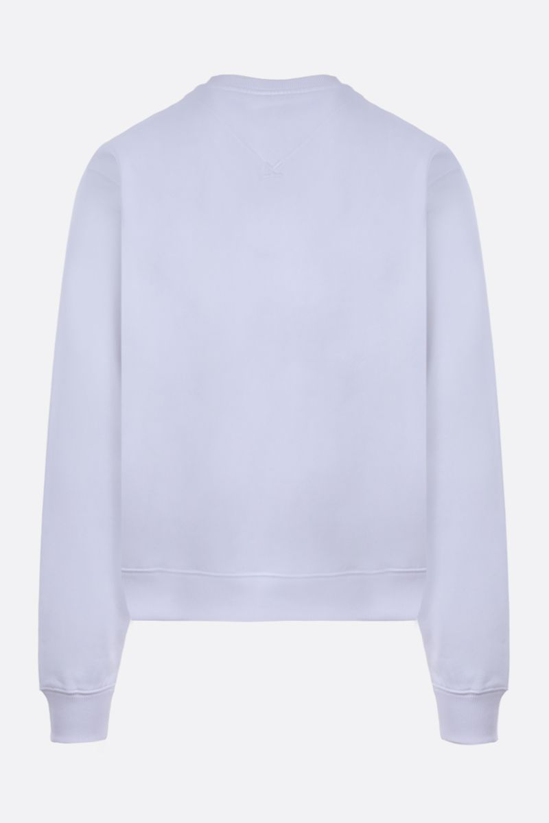KENZO: Kenzo Logo cotton sweatshirt Color White_2